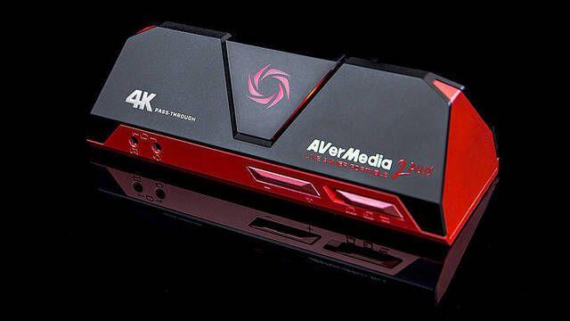 Avermedia presenta su nueva capturadora para jugar a 4K mientras grabamos a 1080p y 60 fps