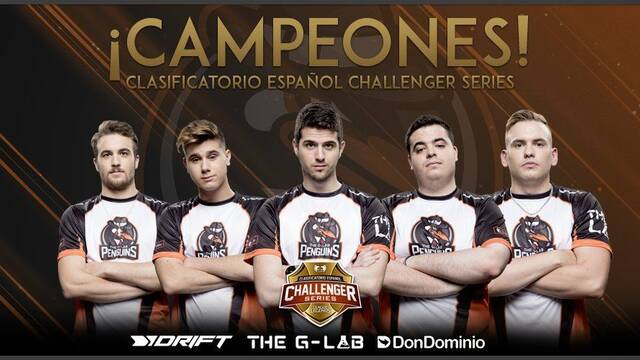 The G-LAB Penguins gana el clasificatorio nacional para la nueva Challenger Series