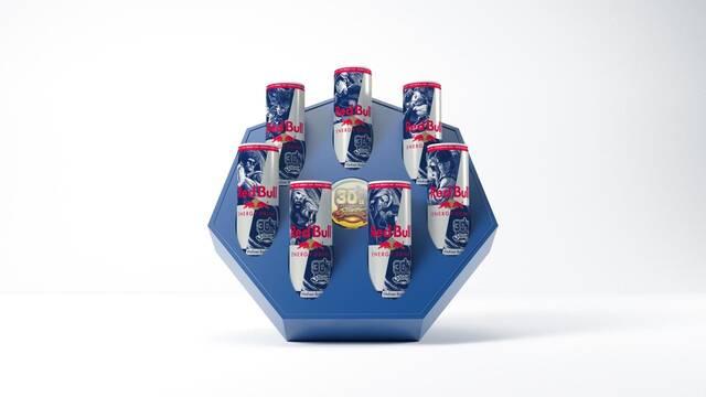 Red Bull celebra el 30 aniversario de Street Fighter con latas especiales de su bebida