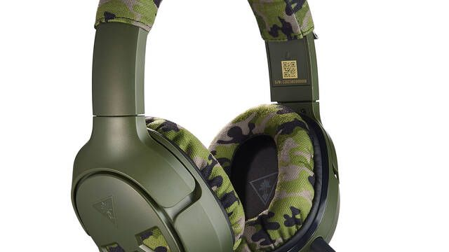 Turtle Bleach lanza sus cascos Recon Camo con camuflaje militar para PC, PS4 y Xbox One