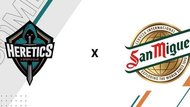 San Miguel se convierte en el nuevo gran patrocinador de Team Heretics