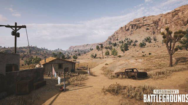 NVIDIA muestra en exclusiva 5 nuevas imágenes del mapa del desierto de PUBG