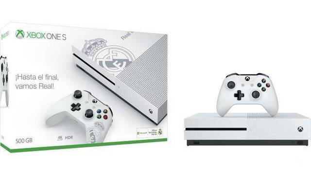 Microsoft anuncia la Xbox One S del Real Madrid
