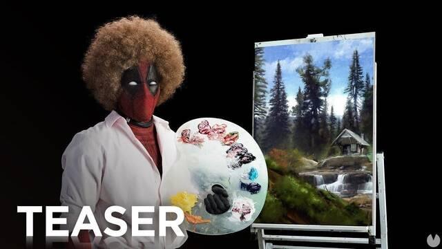 El nuevo tráiler de Deadpool 2 es un gamberro homenaje al artista Bob Ross