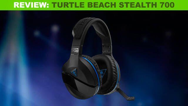 Turtle Beach Stealth 700: Una buena elección de cascos inalámbricos para tu consola u ordenador