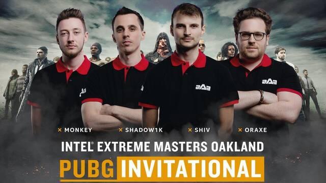 El ganador del IEM Oakland de PUBG es aAa Gaming, uno de los equipos del clasificatorio