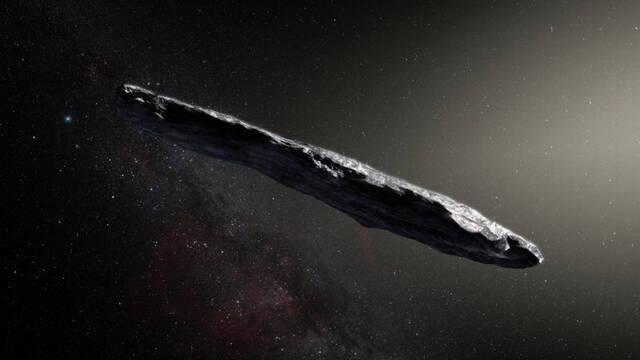 Nuestro primer visitante interestelar es un asteroide con forma de cigarro