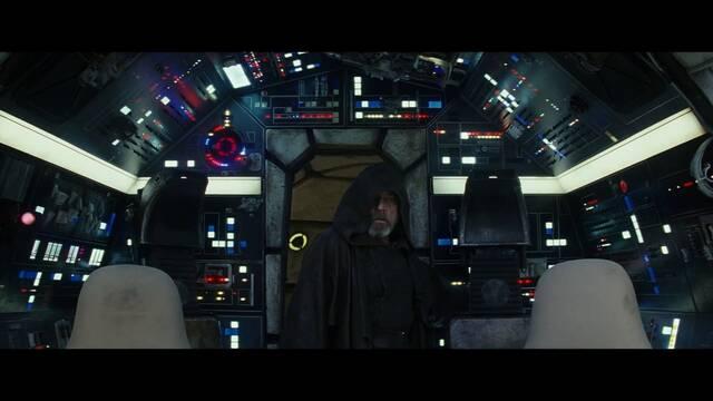 Luke sube a bordo del Halcón Milenario en el último tráiler de 'Los Últimos Jedi'