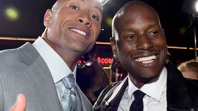 Tyrese Gibson sobre Fast and Furious: 'Soy yo o La Roca'