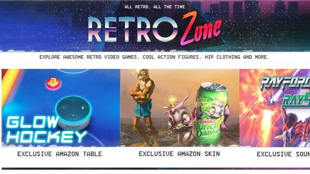 Amazon presenta Retro Zone, su tienda dedicada a las consolas y juegos retro