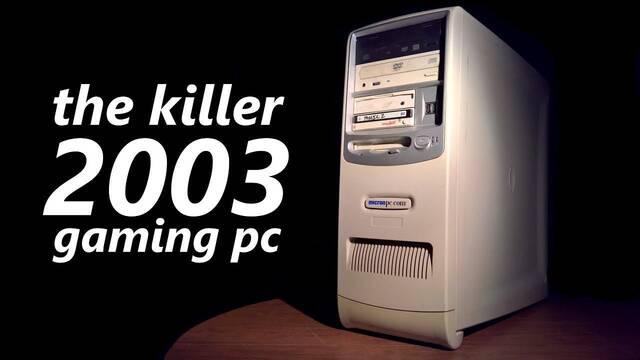 Así era un ordenador para gamers en el 2003