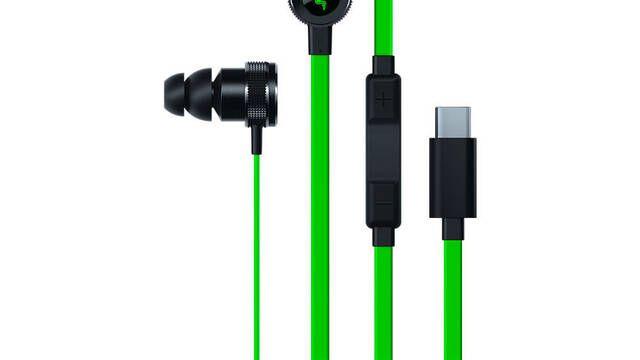 Razer estrena nuevas versiones de sus cascos Hammerhead con conexiones USB Tipo C y Lightning