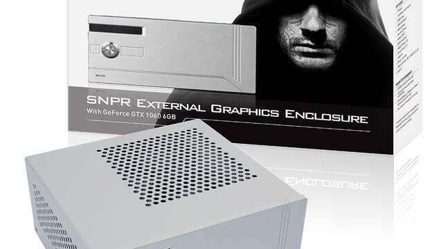 KFA2 presenta su tarjeta gráfica externa SNPR GTX 1060