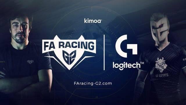 Fernando Alonso crea FA Racing G2, su equipo de esports junto a G2