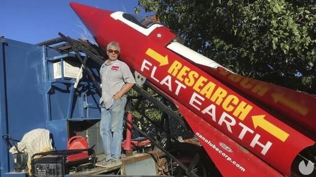 Construye un cohete casero para probar que la Tierra es plana