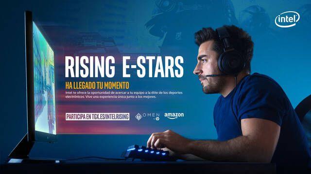 TGX, HP, Intel y Amazon presentan Rising eStars, la oportunidad de los equipos amateur de CS:GO para llegar a ser profesionales