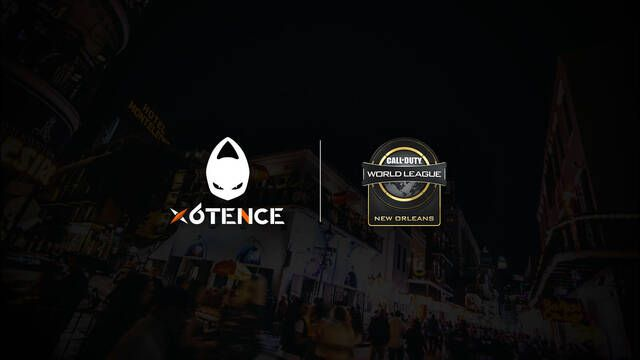 El equipo de Call of Duty de x6tence competirá en la CWL de Nueva Orleans