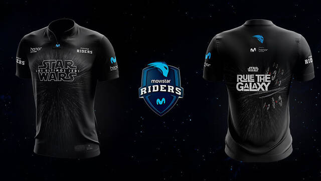 Movistar Riders presenta una camiseta especial de Star Wars