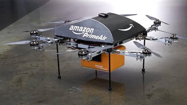 Los drones de Amazon se autodestruirán antes de provocar accidentes
