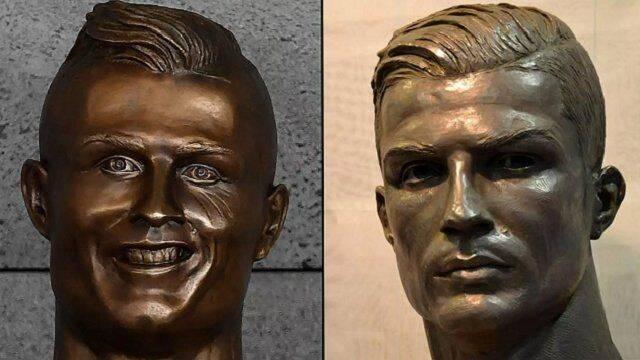 Estos son los mejores memes de la nueva escultura de Cristiano Ronaldo