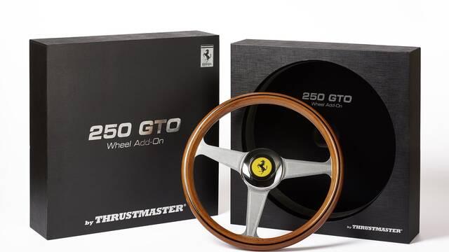 Thrustmaster presenta su volante Ferrari 250 GTO para celebrar 55 años de historia
