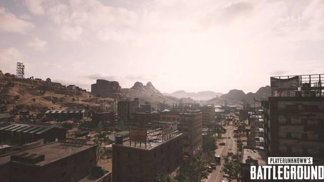 PUBG nos enseñará el primer gameplay del mapa desértico en The Game Awards