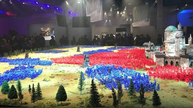 World of Warcraft: Battle For Azeroth bate un Récord Guinness Mundial con un diorama de 369 m²