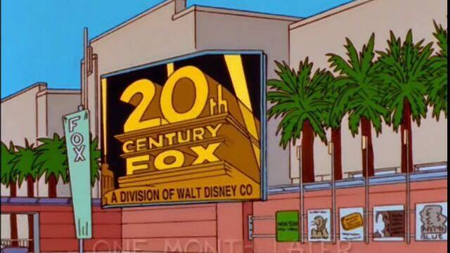 Los Simpsons predijeron la compra de Fox por parte de Disney hace 20 años