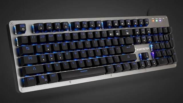 El teclado mecánico para jugadores MantisTek GK2 incluye un peligroso keylogger en su software