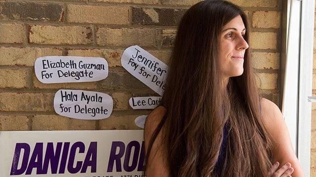 Danica Roem, primera transgénero elegida para desempeñar un cargo legislativo en EEUU