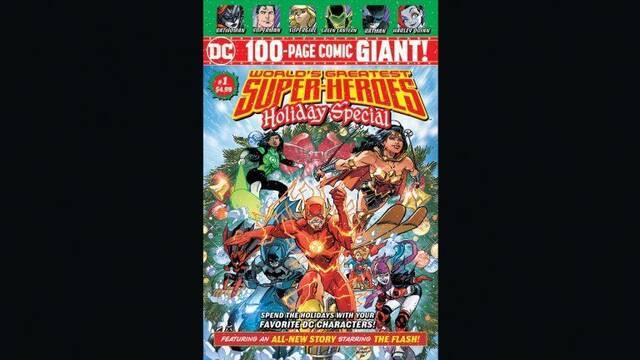 DC revela detalles de 'Super-Heroes Holiday Special'