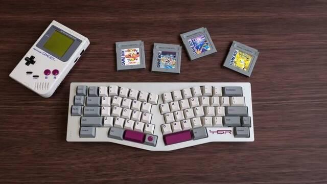 GMK DMG, el teclado homenaje a Game Boy