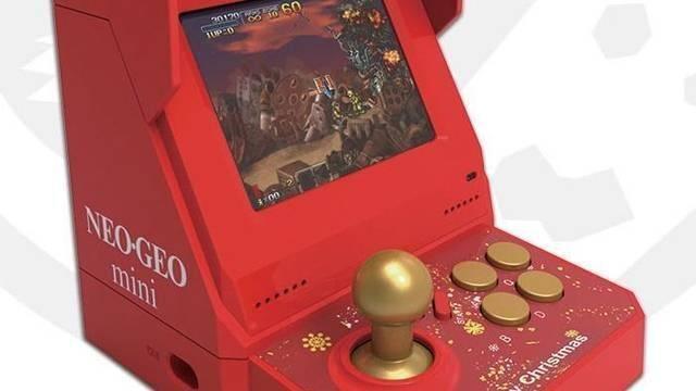 Neo Geo Mini tendrá una edición especial navideña