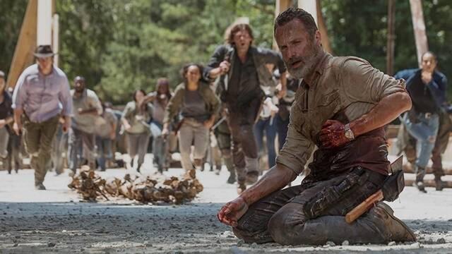 Las calificaciones de The Walking Dead se mantienen tras la salida de Rick