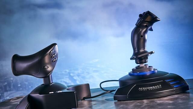 T.Flight Hotas Ace Combat 7 Skies Unkown Edition, el nuevo joystick para volar de Thrustmaster