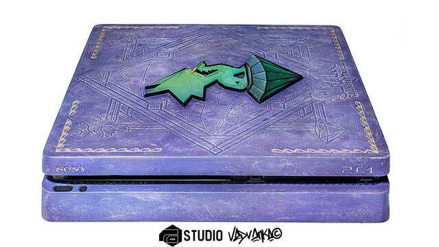 Crean una PS4 personalizada con Spyro