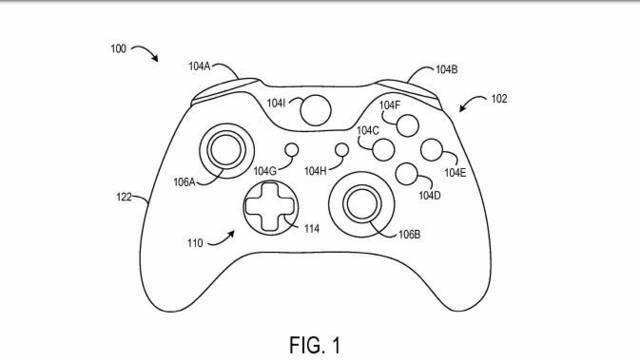 Aparece una patente con una versión aún más personalizable del Xbox Elite