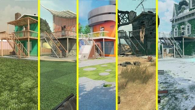 Comparativa gráfica: Así ha evolucionado Nuketown de Black Ops a Black Ops 4