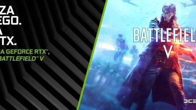 NVIDIA lanza un bundle con Battlefield V y sus gráficas RTX