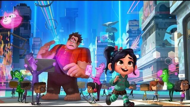 Disney se 'ríe' de la caída de Facebook con un vídeo de Ralph Rompe Internet
