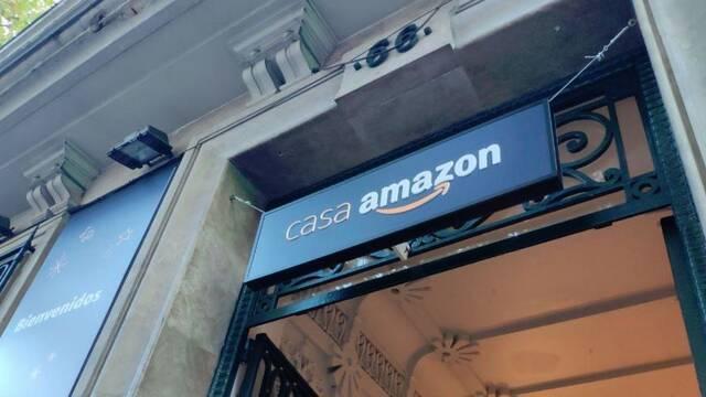 Amazon inaugura su primera tienda física en España