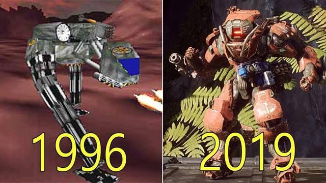 La evolución gráfica de los juegos de Bioware del 96 al 2019