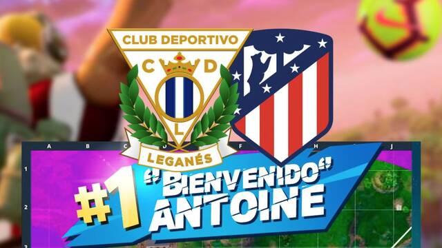El Leganés utiliza Fortnite para promocionar su partido contra Atlético