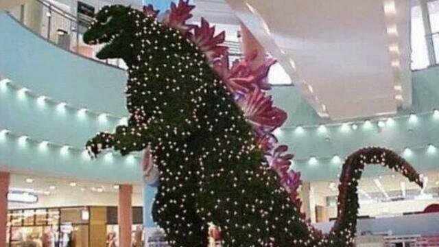 Godzilla sembró el caos en las Navidades del 2000