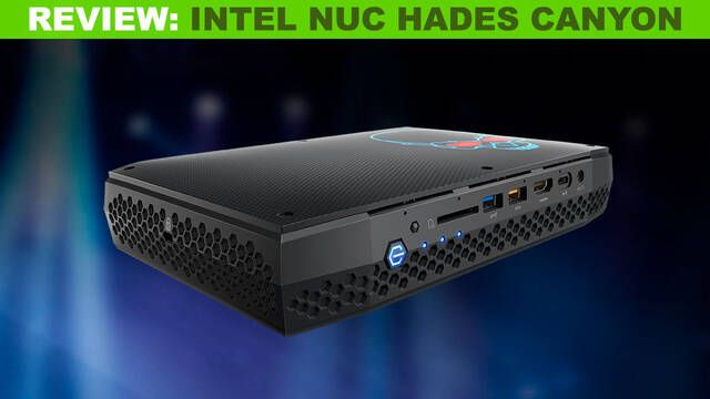 Análisis del Intel NUC Hades Canyon:  Un equipo de mochila para la realidad virtual