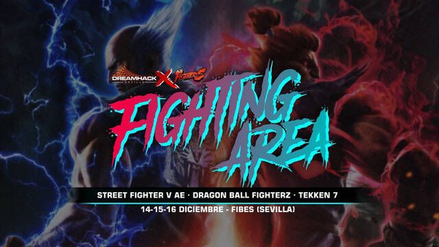 DreamHack Sevilla tendrá su Fighting Area para los fans de la lucha