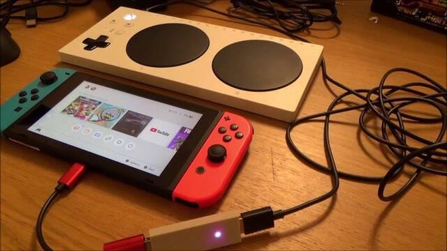 Logran utilizar el Adaptive Controller de Xbox con Nintendo Switch