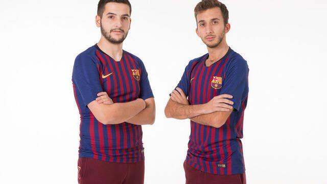El FC Barcelona presenta a sus primeros jugadores de esports para PES 2019
