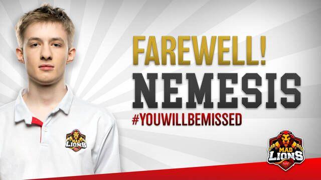 Fnatic y MAD Lions llegan a un acuerdo por el fichaje de Nemesis