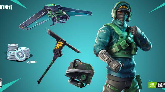 NVIDIA lanza un bundle con contenido exclusivo para Fortnite